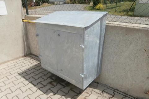 Plynoměrová skříň HUP