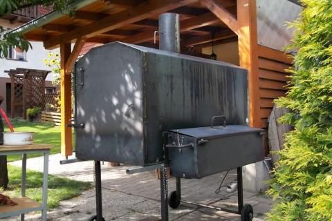 Výroba grilu na sele