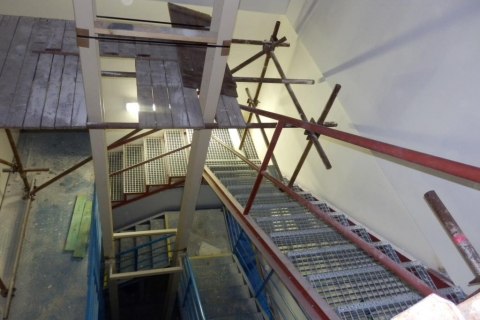 Ocelové schodiště ETTO