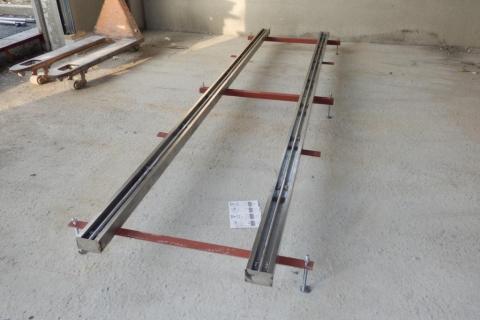 Výroba a montáž nerezových kolejnic