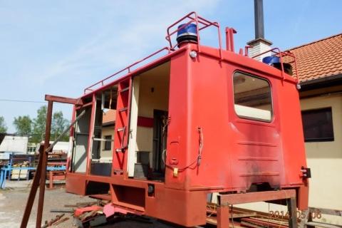 Generální oprava nástavby hasičské avie
