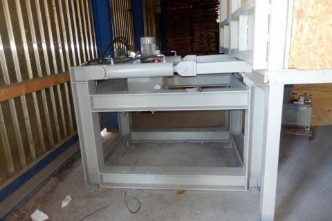 Ocelové konstrukce zařízení peletkárny