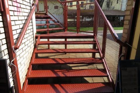 Rekonstrukce schodů LEGO Vsetín