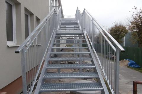 Ocelové schodiště Horní Benešov
