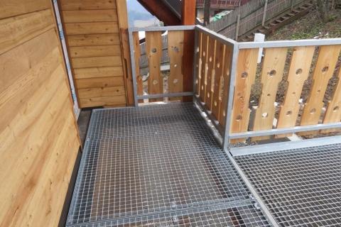 Venkovní schodiště SKI Kohútka