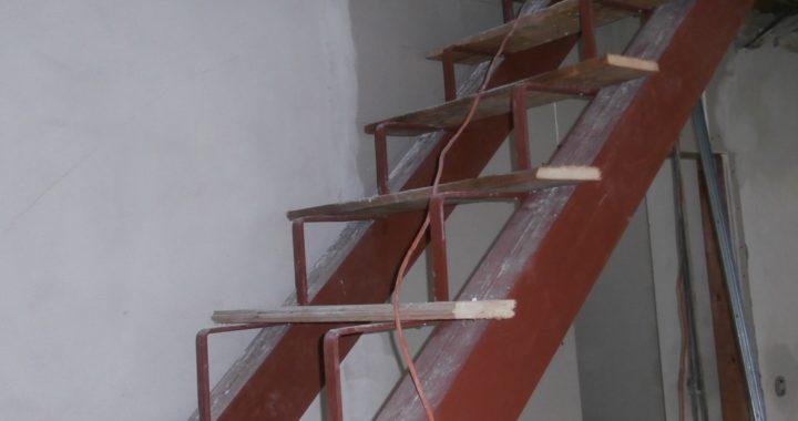 Ocelová konstrukce schodů Vsetín